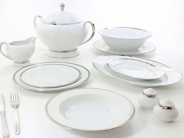 Gerlach, porcelana, serwisy obiadowe