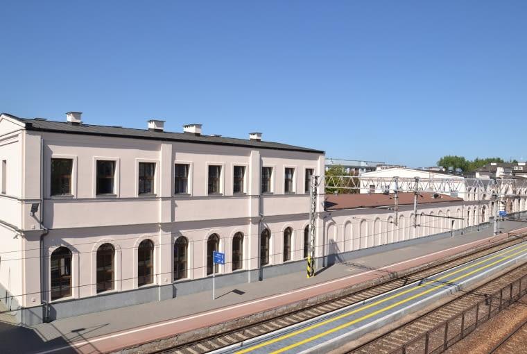 Obecny wygląd Dworca PKP w Białymstoku