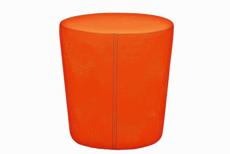 Pasuje tu także... stołek, sztuczna skóra, wys. 46 cm - 199 zł, IKEA.