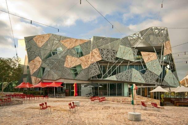 Skwer Federacji w Melbourne, proj. Lab Studio