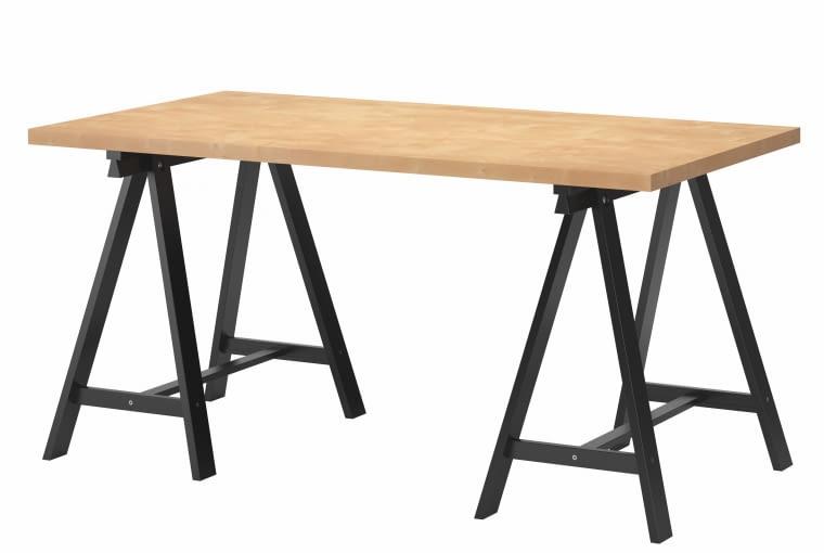 MAT003754V1-IKEA PRINT BIRCH Lacquer MDF 15 Q2 (table top), MAT002972V1-IKEA Black no1 Pigm lacq gloss 25 Q2 (legs)Colorcheck table top; approved reference pic PE427579colour check; Mtrlboll, Cecilia H8BIM%Spv9ICC_PROFILEapp