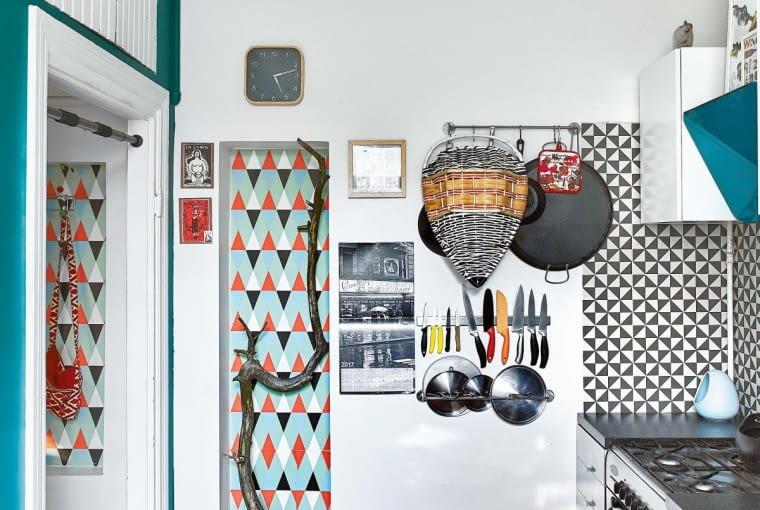 KUCHENNE SZAFKI z IKEA przyjechały z poprzedniego mieszkania. Idealnie odnalazły się w nowym miejscu.