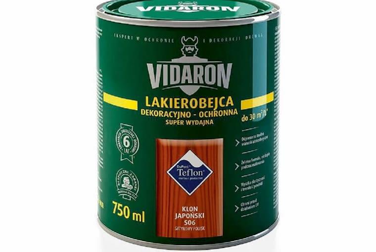 Lakierobecja dekoracyjno-ochronna/VIDARON | 15 kolorów. Cena: 30 zł/0,75 l