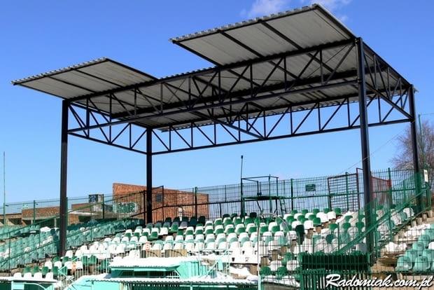 Zadaszenie stadionu w Radomiu