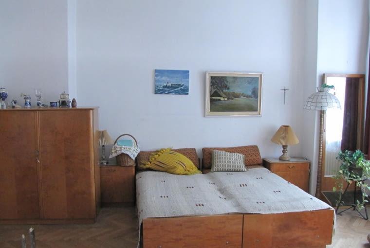 Sypialnia przed metamorfozą