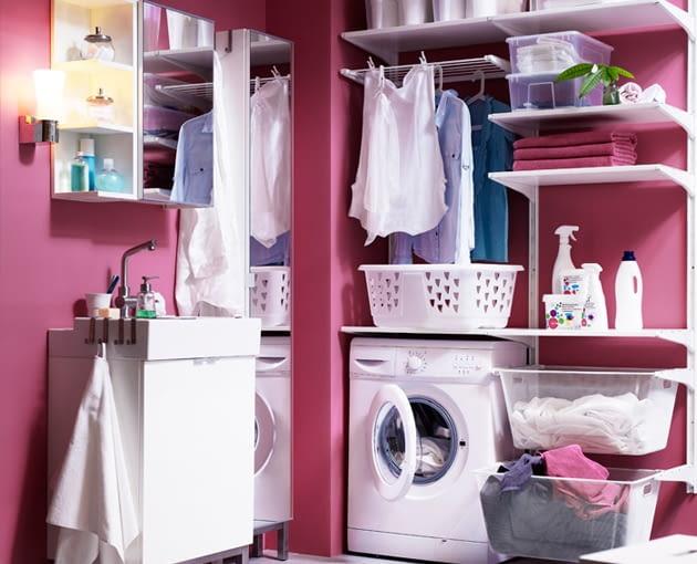 pralka w łazience, pralka wolno stojąca