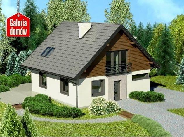 projekty domów, dom jednorodzinny, projekt domu