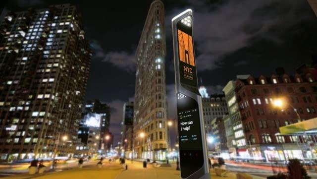 Projekt nowej budki telefonicznej, proj. Beacon, źródło: http://www.frogdesign.com