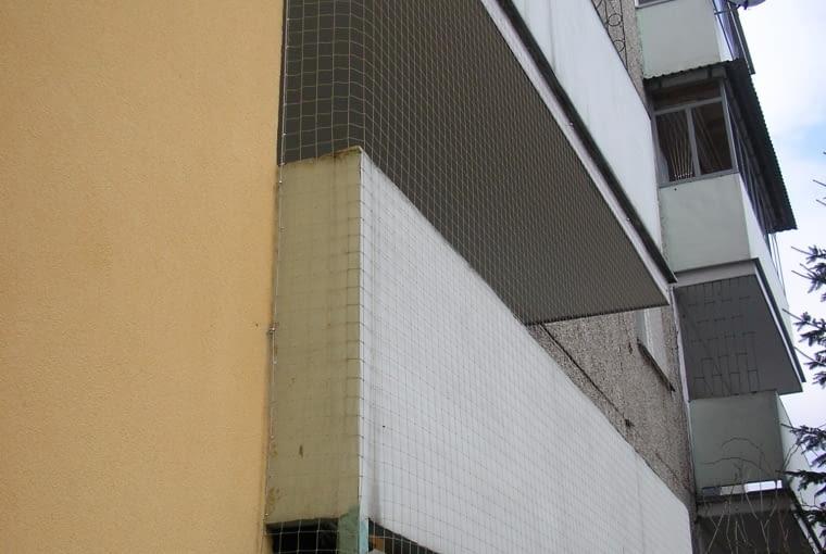 Siatka na balkon. Gruba Siatka dla kota. Siatka przeciw ptakom. Oko 40x40mm.www.siatki.linarem.pl, 8,90 ( 1 m 2)