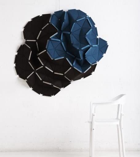 panel dekoracyjny Clouds; projekt: bracia Bouroullec dla Kvadrat