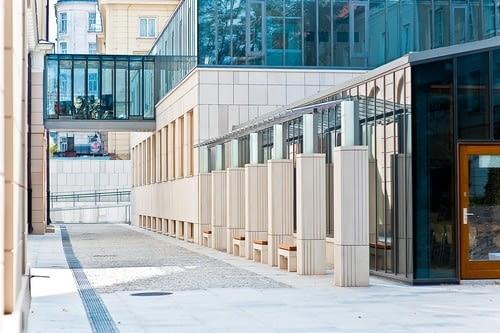 Budynek dydaktyczny z biblioteką Instytutu Historycznego, Uniwersytet Warszawski, Pracownia Architektoniczna BNS, 2011