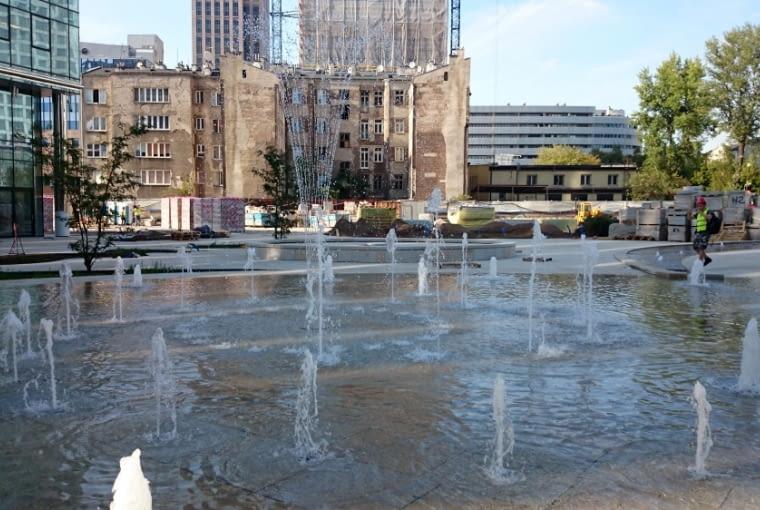 Wieżowiec Warsaw Spire - Plac Europejski