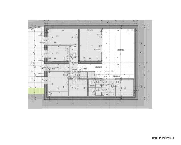 Porcelana Śląska Park 2 - modernizacja budynku dawnej stajni - rzut - I