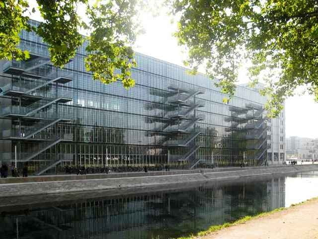 strasburg, rewitalizacja, adaptacja, biblioteka, francja, budynek