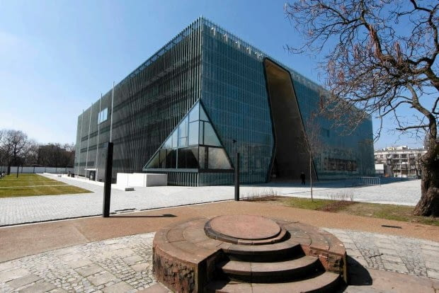 Muzeum Historii Żydów Polskich, proj. Rainer Mahlamäki, Fot. PETER ANDREWS REUTERS