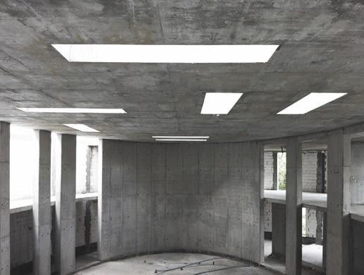 Zbór Wspólnoty Odkupionych Chrześcijan w Warszawie - zdjęcie z budowy