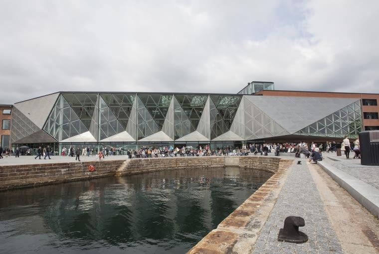 Duńskie Muzeum Morskie w Helsingor, Dania. Proj. BIG - Bjarke Ingels Group