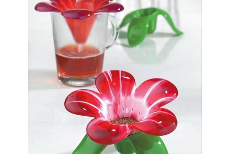 prezent, zaparzacz w formie kwiatu, zaparzacz do ziół i herbaty