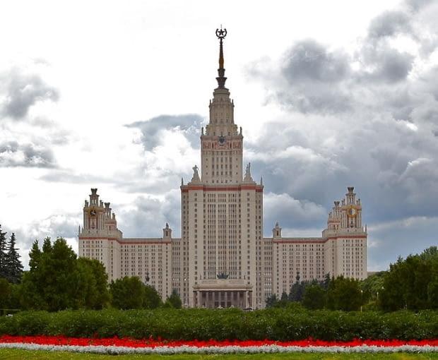 Gmach główny Uniwersytetu Moskiewskiego