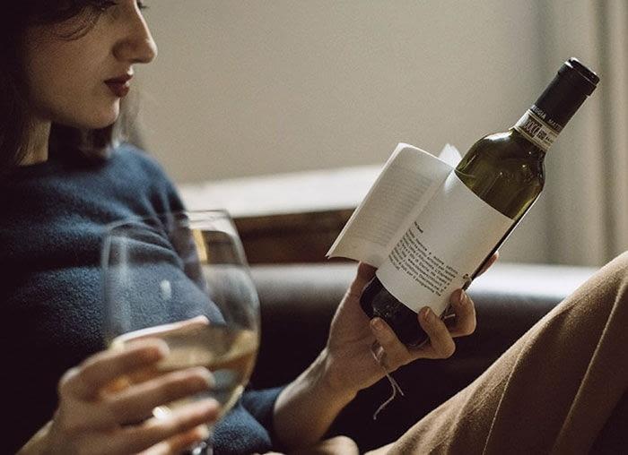 Wino Librottiglia dla miłośników literatury