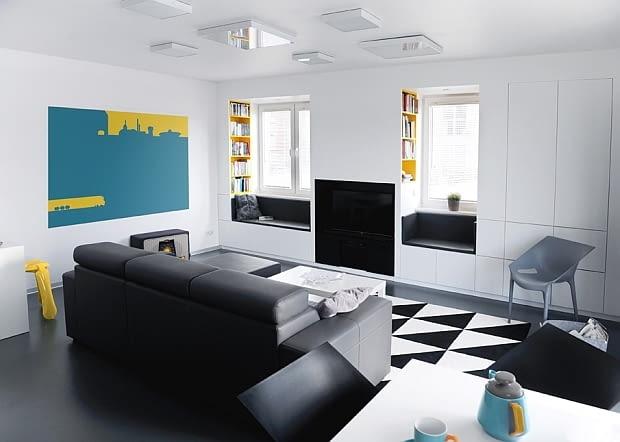 mieszkanie w katowicach, design w domu, jasne mieszkanie