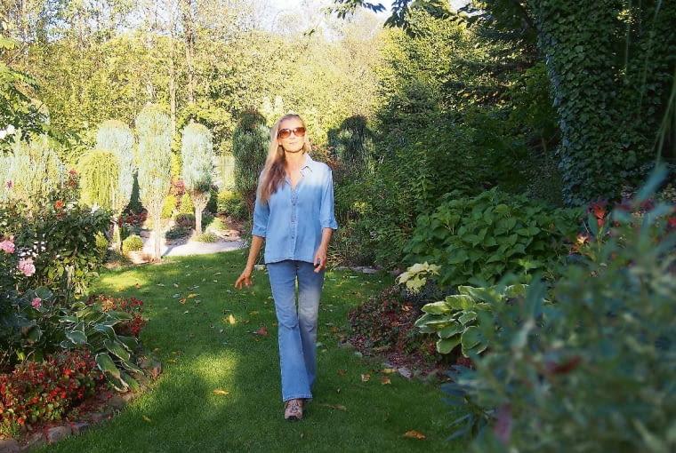 Katarzyna Wojtyńska-Stahl, ogrodniczka amatorka, blogerka; www.ogrodpodlasem.pl