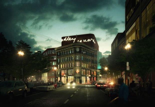Kolejna nominowana wizualizacja to praca Christophera Malheirosa, która przedstawia budynek biurowy, usytuowany w Bostonie.
