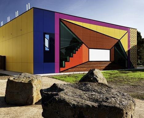 Biblioteka i centrum nauki Avondale Heights, Melbourne, Australia, proj. H2o Architects, , 2010