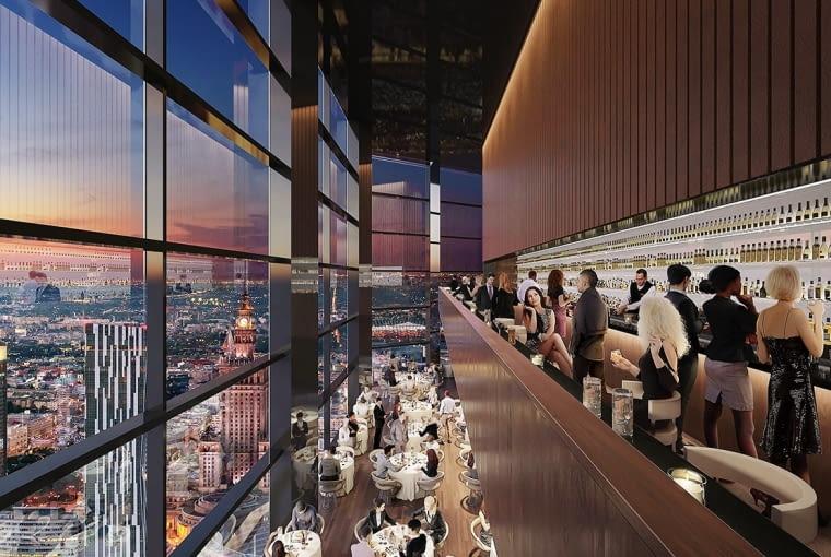 Projekt wieżowca Varso - znanego wcześniej jako Chmielna Business Center