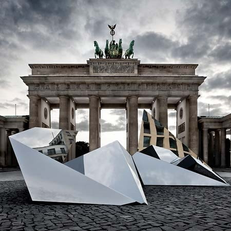 coordination berlin, crytal city mind, rzeźba, berlin