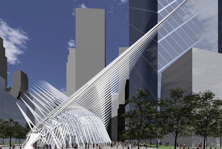 santiago calatrava, nowy jork, usa, gorund zero