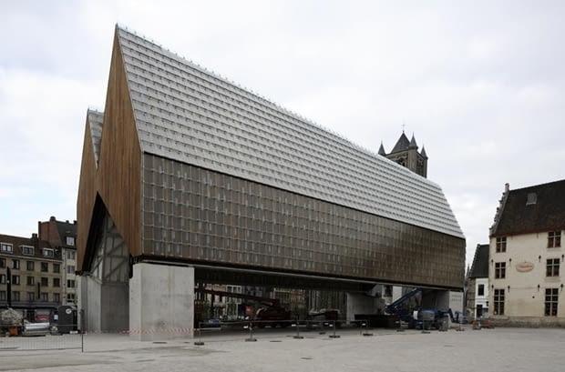 Miejska Hala Targowal - Gandawa, Belgia