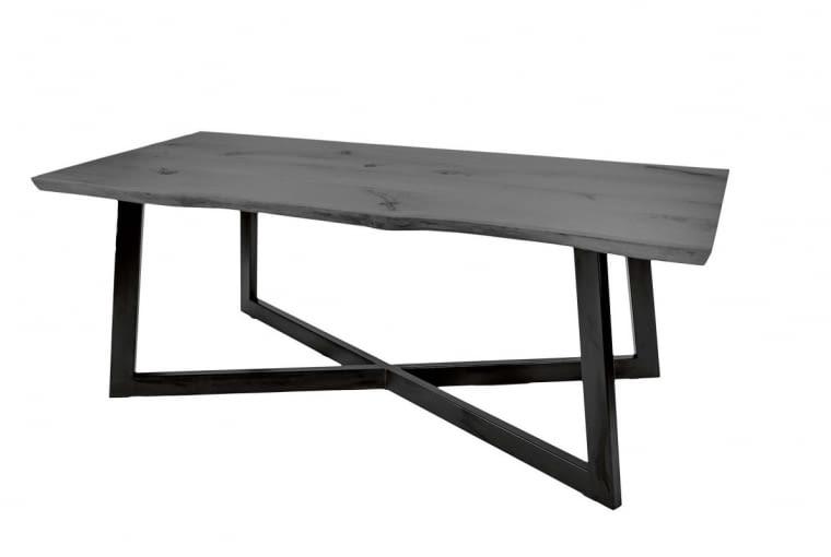 W stylu tego wnętrza: Stół, drewno dębowe i metal, 90 x 205 cm, 2900 zł, naysna.pl