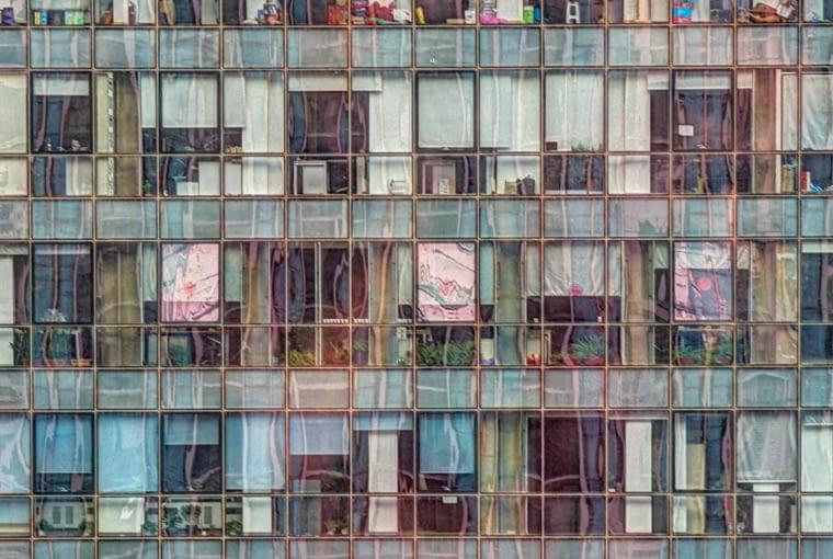 Biurowiec w Beijing w Chinach. Finalista w kategorii: Budynki w użyciu.