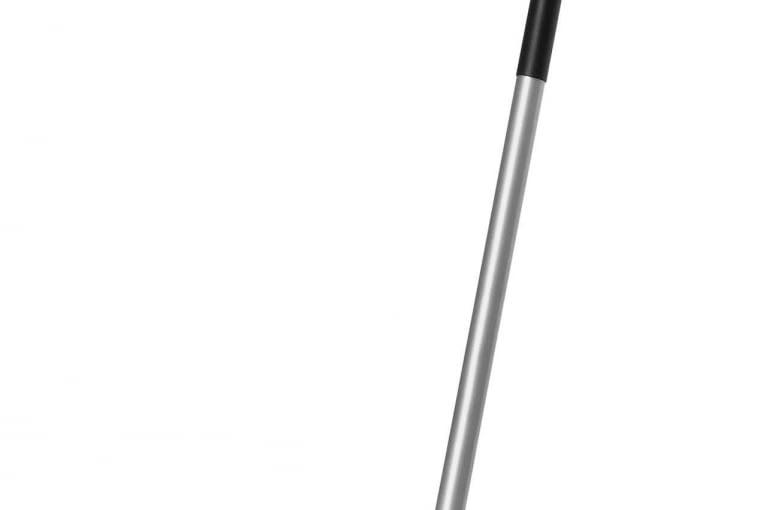 PODSTAWOWE: Grabie wachlarzowe /JULA | Głowica z tworzywa z 26 zębami | aluminiowy trzonek z gumowanym uchwytem, Cena: 34,99 zł, www.jula.pl