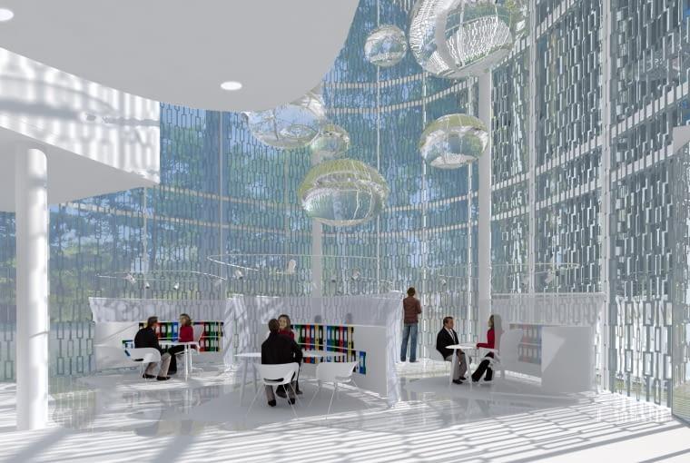Aquarium - rozbudowa willi Neumann w Gliwicach na siedzibę PWIK