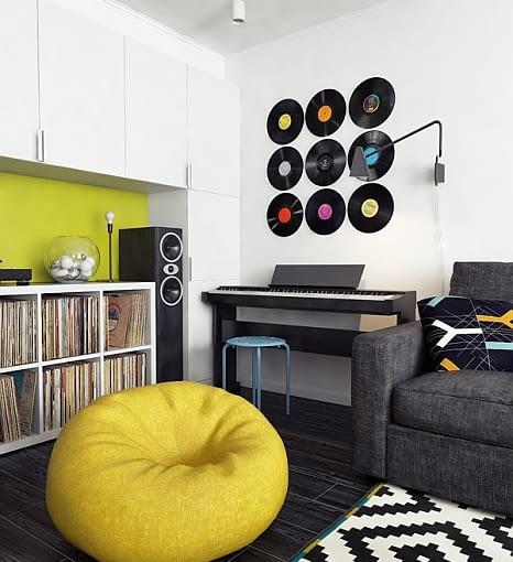 nowoczesne mieszkanie, mieszkanie dla singla, nowoczesne mieszkanie, nowoczesne wnętrze