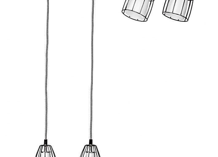 Lampy FRAME, metal i szkło, na listwie, 1190 zł, Kaspa