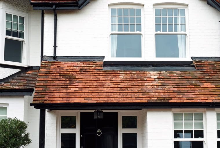 Fasada domu Thorntonów, w którym kiedyś mieścił się wiktoriański pub. Donna Ida, właścicielka londyńskiej sieci butików o tej samej nazwie.