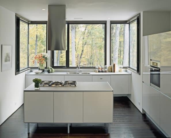 białe kuchnie, kuchnie, wnętrza