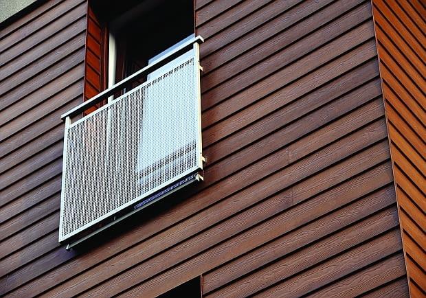 Deski włókno-cementowe, imitacje drewna