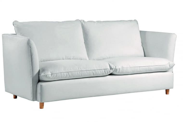 W stylu tego wnętrza: Sofa, obicie z tkaniny, dł. 207 cm BBHome , 2823 zł