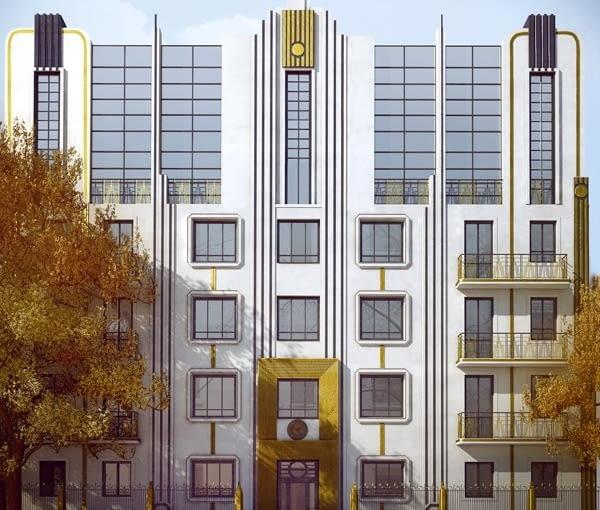 Atr D'eco House, Apartamentowiec w stylu art deco w sercu starego Mokotowa