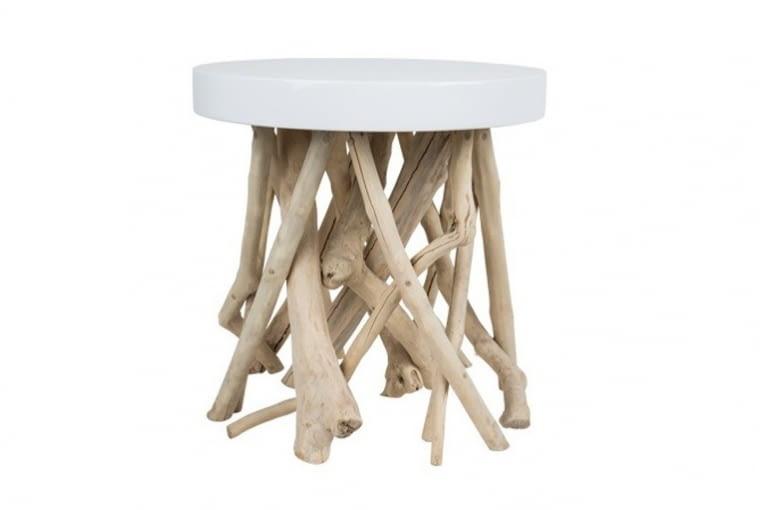 W stylu tego wnętrza: stolik kawowy Cumi, wys. 45 cm, Zuiver, Mesmetric, cena: 940 zł