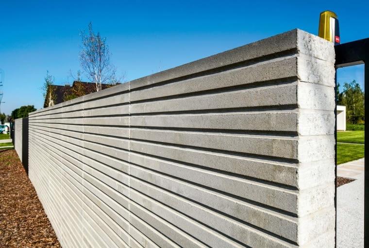 Ogrodzenie z betonu