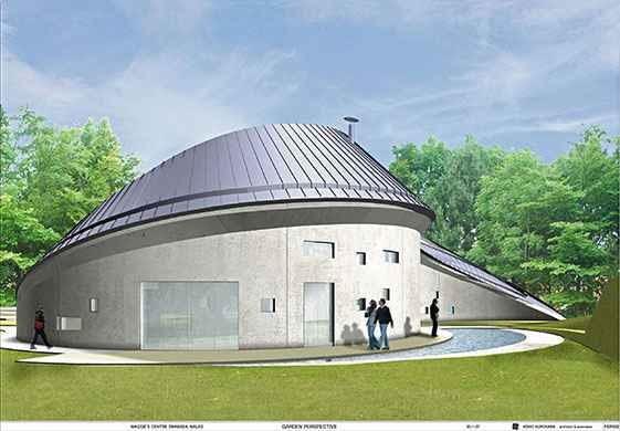 swansea, projekt, wielka brytania, architekt, budynek, kurokawa
