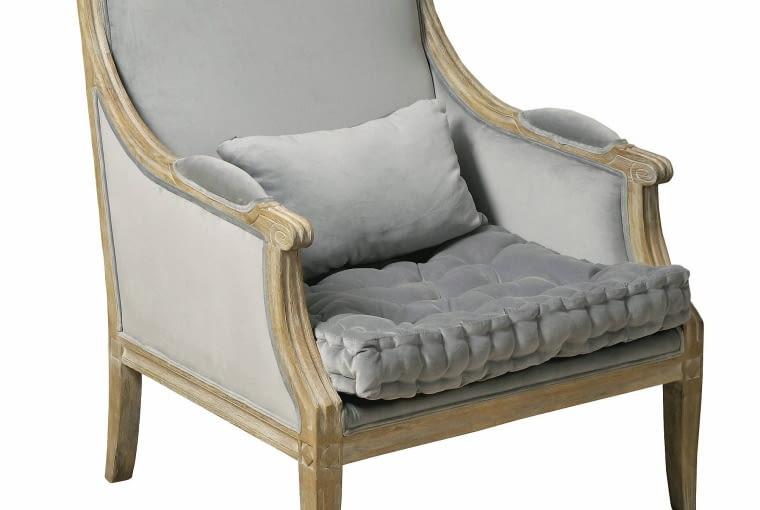 Fotele za 1000-2000 zł: fotel Classic, lawendowykredens.pl