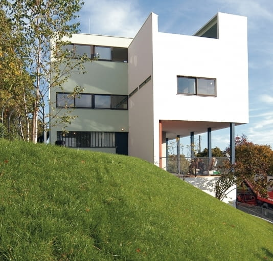 Willa autorstwa Le Corbusiera, modernistyczne osiedle mieszkalne Weissenhof w Stuttgarcie, 1927