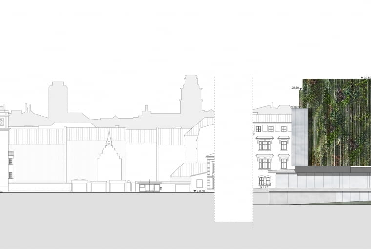 Koncepcja przebudowy Hotelu Cracovia na Muzeum Designu i Architektury, projekt: Alicja Nowak