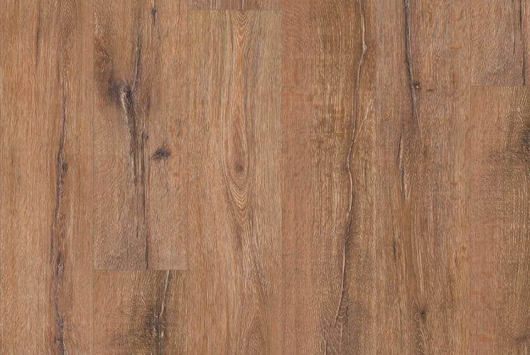 Dąb Barbarossa/Egger Klasa ścieralności: AC4 format Long (2052 x 248 x 9 mm) struktura powierzchni: Natural Pore (autentyczna struktura drewna) czterostronna fuga profil: UniFit! Cena: 99,90 zł/m2, www.egger.pl